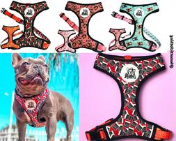 Dog Harness Collars for Small and Medium Dogs, Reversible an