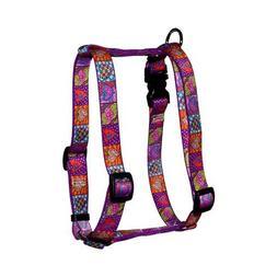 Yellow Dog Design Roman Harness, Small/Medium, Crazy Hearts