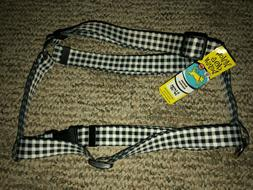 "Yellow Dog Design Roman Harness XL 28""-36"" Black and White C"