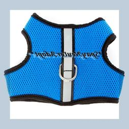 Top Paw Royal Blue Soft Padded Mesh Reflective Strip Dog Ves