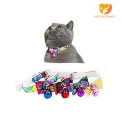 Safety Bowknot Design Nylon Dog Puppy Cat <font><b>Collars</