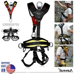 Safety Rock Tree Climbing Body Fall Protection Rappelling Ha
