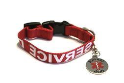 Service Dog - Emotional Support Animal ESA Dog K9 Collar Tag