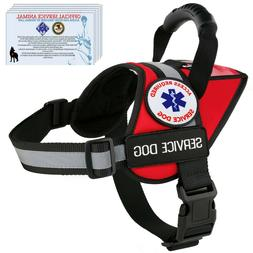 service dog harness reflective vest waterproof no