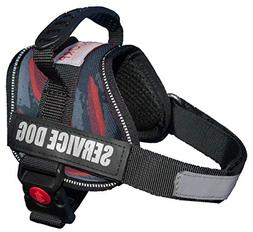 ALBCORP Service Dog Vest Harness - Reflective - Woven Nylon,