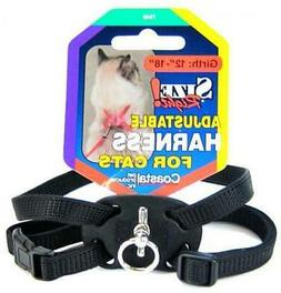 Coastal Pet Size Right Nylon Adjustable Cat Harness - Black