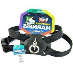 Coastal Pet Size Right Nylon Adjustable Dog Harness - Black