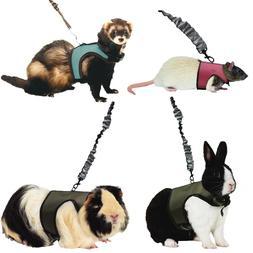 Kaytee Small Animal Harness & Stretchy Leash Asst Colors