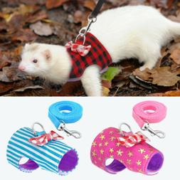 small animal harness with leash guinea pig