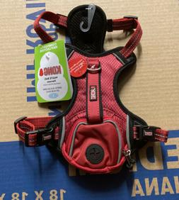 Kong Small Comfort + Reflective Red Waste Bag Harness NEW
