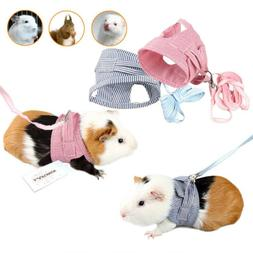 Small Pet Harness Leash Vest Rope Collars For Collars Guinea