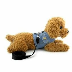 SMALLLEE_Lucky_Store XY000335-Darkblue-L Dog/Cat Soft Mesh L