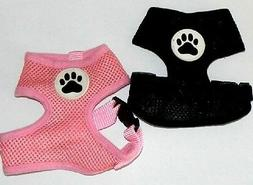 Snoopy's Toy Dog Harnesses - Black or Pink - XXS XS Harness