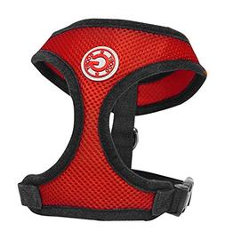 Gooby Soft Breathable Mesh Dog Harness for Small Pets, Mediu