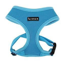 Puppia Soft Dog Harness, Sky Blue, Large