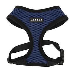 Puppia Soft Dog Harness, Royal Blue, X-Small
