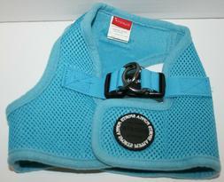 Puppia Soft Mesh Padded Dog Step-In Vest Harness - Blue Medi