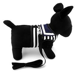 SMALLLEE_LUCKY_STORE Soft Mesh Sailor Harness Cat Small Dogs