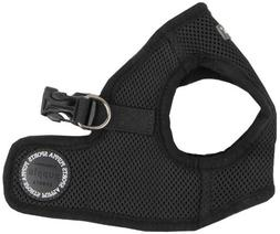 Puppia Soft Vest Dog Harness - Black - Medium