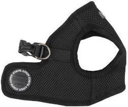Puppia Step-In Soft Vest Dog Harness - Black - SM