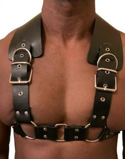 Spartan Harness Spartacus Men's Leather Upper Body Gladiato