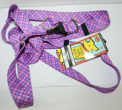 Yellow Dog Design Step-In Dog Harness - Purple & Pink Diagon