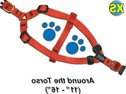 """Step-In Pet/Dog Harness - Extra Small 11 - 16"""" - Assorted co"""