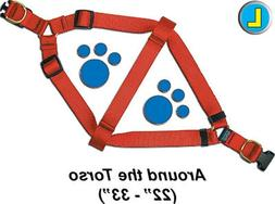 """Step-In Pet / Dog Harness - Large 22 - 33"""" - Assorted colors"""