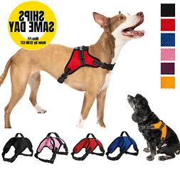 No Pull Adjustable Dog Pet Vest Harness Quality Nylon XS S M