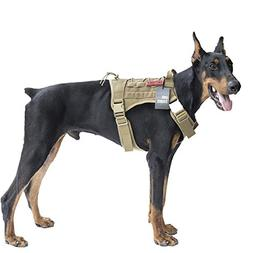 OneTigris Tactical Dog Vest Harness ? Water-resistant Comfor
