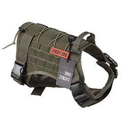 OneTigris Tactical Service Dog Vest – Water-resistant Comf