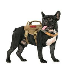 OneTigris Tactical Training Dog Harness Molle Pet Dog Vest f