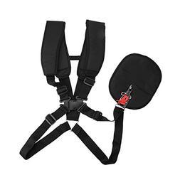 Yosoo Trimmer Shoulder Strap Harness Double Shoulder Mower N