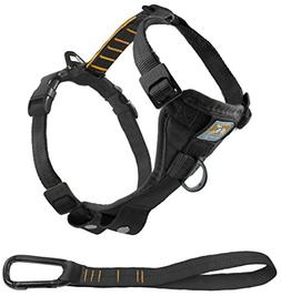 Tru-Fit Smart Dog Harness in Black - Size: Small