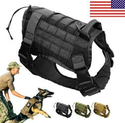 us police k9 tactical training dog harness