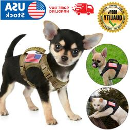USA Tactical Adjustable Cat Puppy Small Dog Working Vest Har