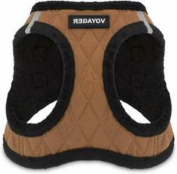Voyager Step-in Soft Plush Dog Vest Harness for Small and Me
