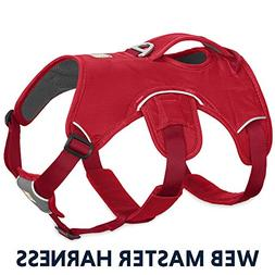 WEBMASTER HARNESS by Ruffwear - RED - LARGE