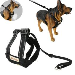 XS-LSafety Dog Vest Harness Run Mesh Padded Comfort Controll