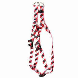 Yellow Dog Design Step-In Harness, Size Large, Black and Red